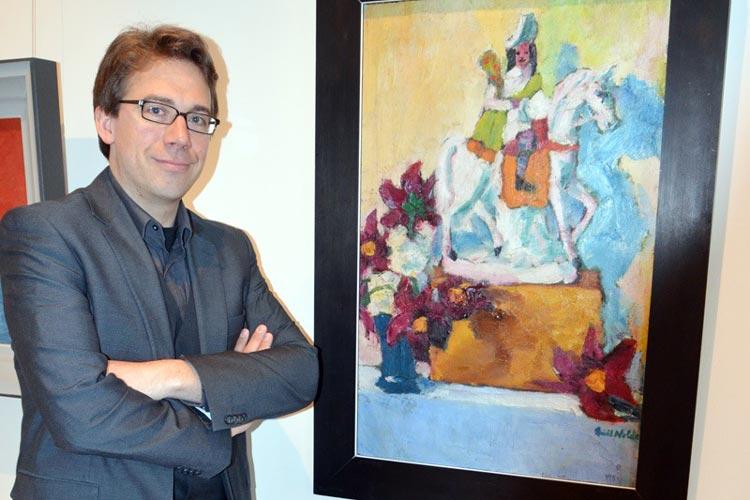 Provenienzforscher Dr. Marcus Kenzler hat das Stillleben mit Reiterfigur von Emil Nolde vollständig entlastet.