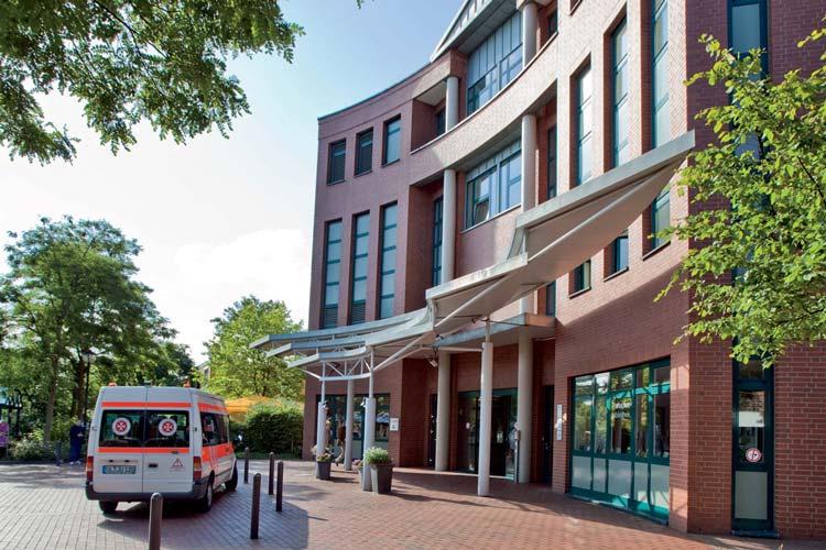 Die Versorgungszeiten sind unter anderem am Klinikum Oldenburg durch IVENA deutlich gesunken.
