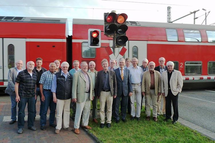 Die Gründungsmitglieder des Bündnisses der Bahninitiativen im Nordwesten trafen sich in Bad Zwischenahn.