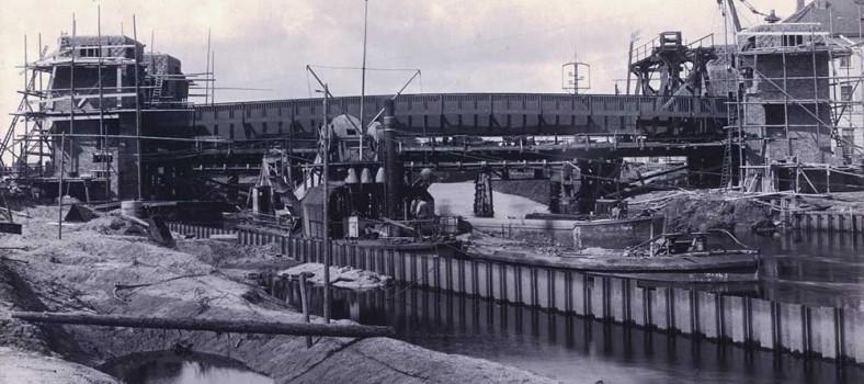 Brücke um 1914. Foto: Christian Kruse