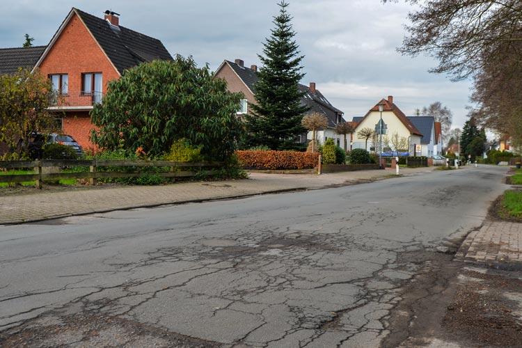 Der Sandweg in Osternburg muss saniert werden, dafür zahlen die Anlieger.