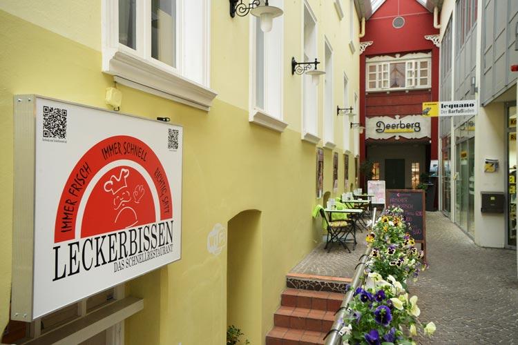 Das Leckerbissen in der Oldenburger Innenstadt.
